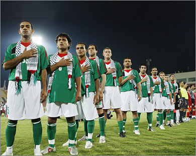 Natioanl Palestine Football team