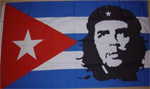 Large flag of Cuba